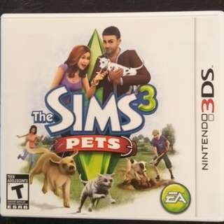 3DS The Sims 3 - Pets
