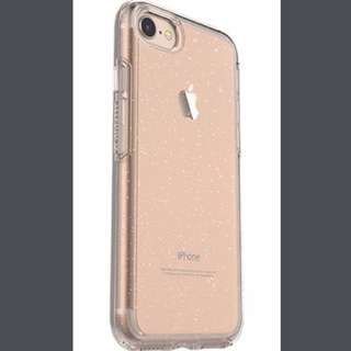 Otterbox clear sparkly case iPhone 6/6s