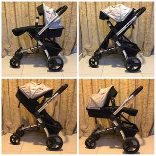 Baby Stroller Jogger SCR 10 Heavyweight + FREE 1 Stroller Lightweight