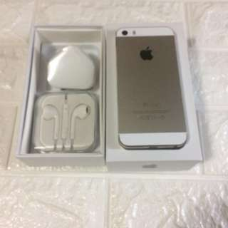 iPhone 5s 16gb gold 95new 100%work perfect condition