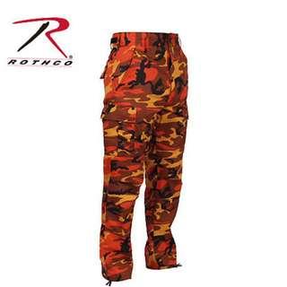 ROTHCO camo Cargo BDU pants