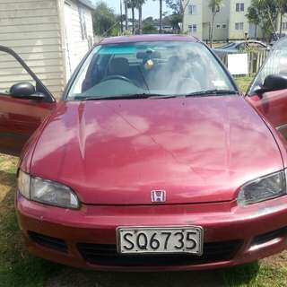 93 Honda civic manual swaps