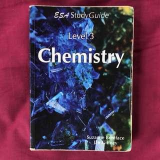 NCEA Level 3 chemistry ESA