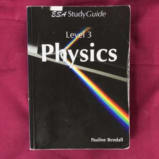 Physics level 3 ESA study guide