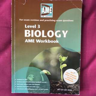 Level 3 biology AME 2016
