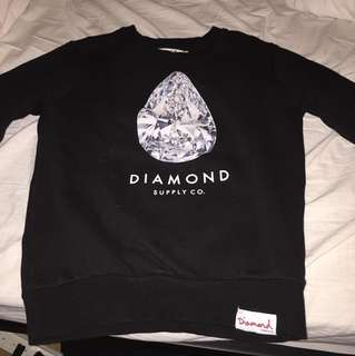 REDUCED 50% OFF: Diamond Supply Black Crewneck