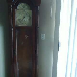 61st anniversary addition Howard Miller grandfather clock