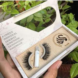 Bulu Mata Palsu Silver Swan Eye Lashes