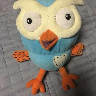 Hoot plush toy