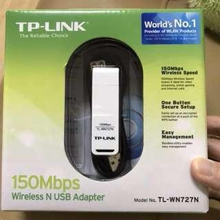全新TP-LINK 150mb 無線USB網絡卡
