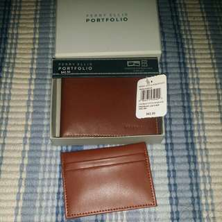Perry Ellis leather wallet