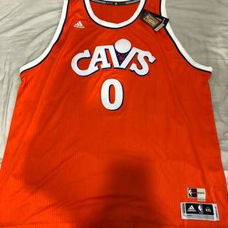New adidas nba Kevin love Cleveland hwc night swingman 4XL