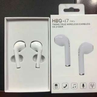 Airpods Hbq i7 TWS Twins Bluetooth earphones