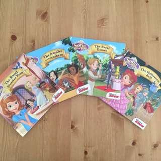 Disney Junior Sofia the First Book Set