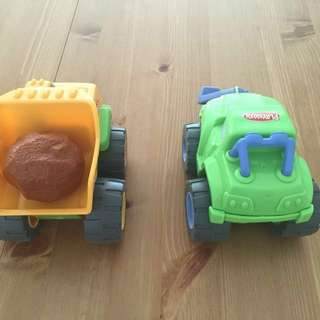 Playskool Rumble Truck Set
