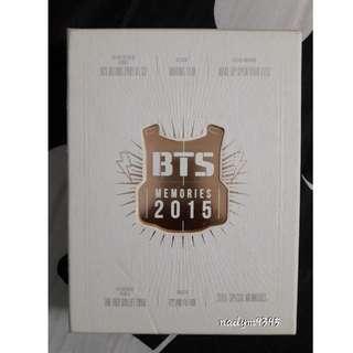 BTS MEMORIES OF 2015