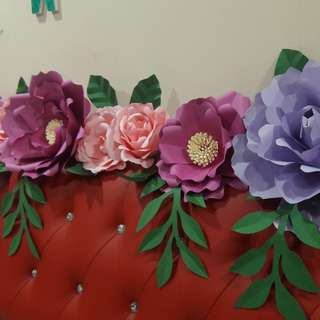 PAPER FLOWER FOR DECORS