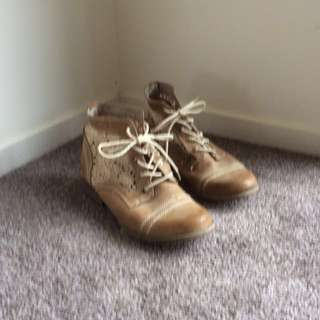 Smart casual woman's boots
