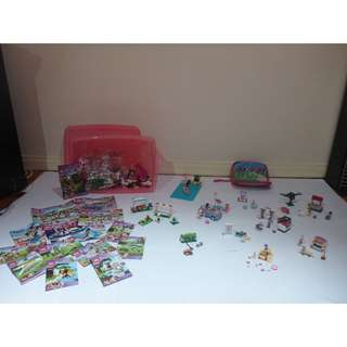 Lego Friends various packs + DVD (toys for young girls)