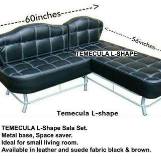 L-shape Sala Set