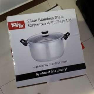 Winox 24cm Stainless Steel Pot