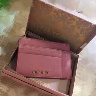 Authentic MiuMiu Cardholders