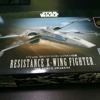 Bandai Star Wars Resistance X-Wing Fighter