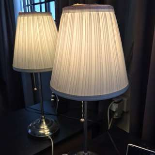 IKEA side table lamp
