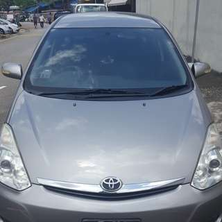 Toyota Wish Rental @ $400 weekly