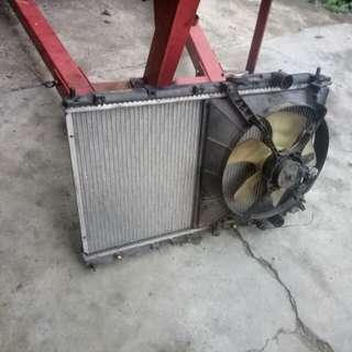 Radiator Double layer Wira Satria Putra