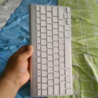 Apple mouse and keyboard