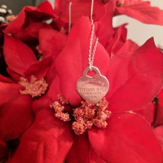 """Authentic Tiffany & co. Return to Tiffany's 16"""" necklace"""
