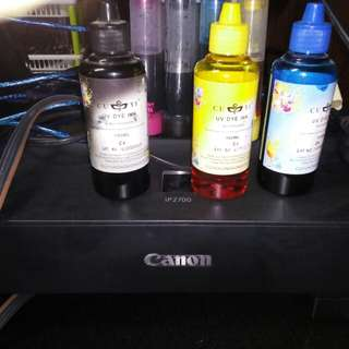 Gaming Pc and Canon Printer with ink