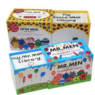 [ready stock] Little Miss ready stock books Children Books Make Reading Fun, Mr men collection