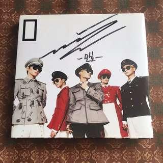 Shinee 05th EVBD mini album 連簽名