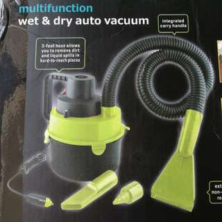 🆕 Multifunction Car Vacuum Cleaner 2 in 1 Wet/Dry DC 12V