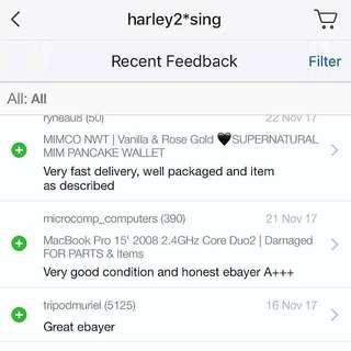 FEEDBACK | For Carousell listed items sold elsewhere