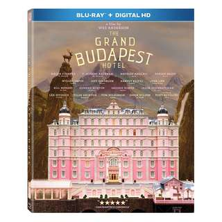 🆕 The Grand Budapest Hotel Blu Ray