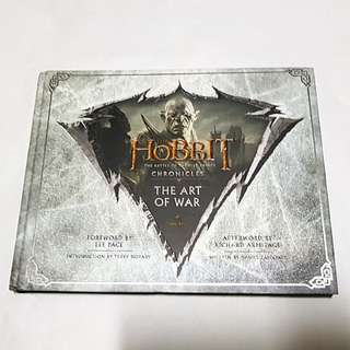 HOBBIT CHRONICLES BATTLE OF THE FIVE ARMIES THE ART OF WAR LOTR