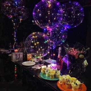 CHRISTMAS LED FAIRYLIGHT HELIUM BALLOON