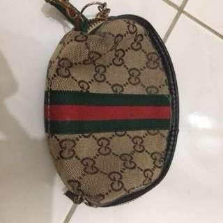Gucci mini pouch bag