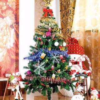 Free Delivery - 1.8m Christmas Tree with LED Lightings & Xmas Decorative Set(80pcs)