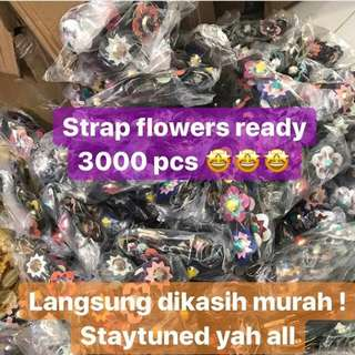 Strap flowers
