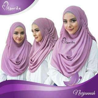 Jilbab Instan (Hitam)