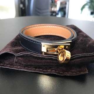 Hermes Kelly Bracelet Gold Hardware RARE