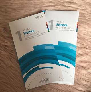 NCEA Level 1 Science Study Set