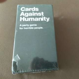 Cards Against Humanity unopened.
