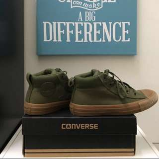 (Authentic)Woman Converse All Star(Olive)