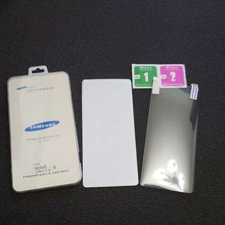 Samsung note 8 front & back screen protector film