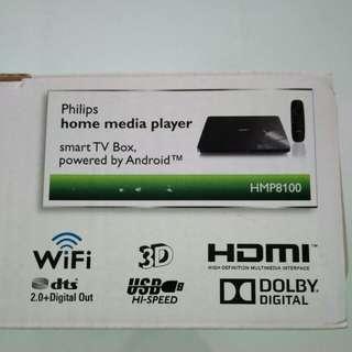 Brand new Philips smart tv box